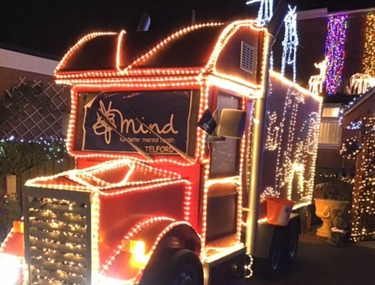 The lights at Rhodes Avenue, Dawley. Photo: Shaun Pickering.