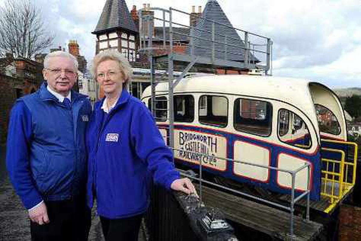 Bridgnorth's cliff railway up for sale