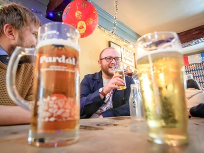 Pubs pour pints again but not all choose to open as lockdown eased in England