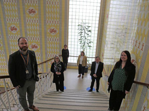 The academic development team at Glyndwr University