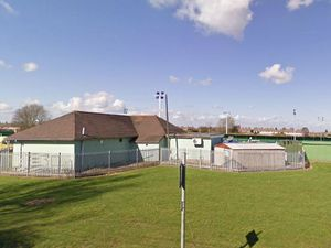 Donnington Wood bowling club and tennis courts