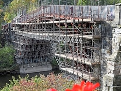 Wraps are off the Iron Bridge and scaffolding is coming down