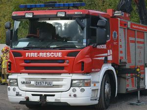 Car crashes onto its roof on A49 at Dorrington