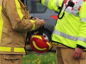 Car fire near Shrewsbury being treated as arson