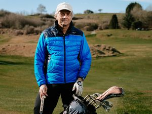 Llanymynech Golf Club member Satyajit Maitra enjoyed a solo game