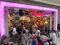 Disney Store on way to Shrewsbury's Darwin shopping centre