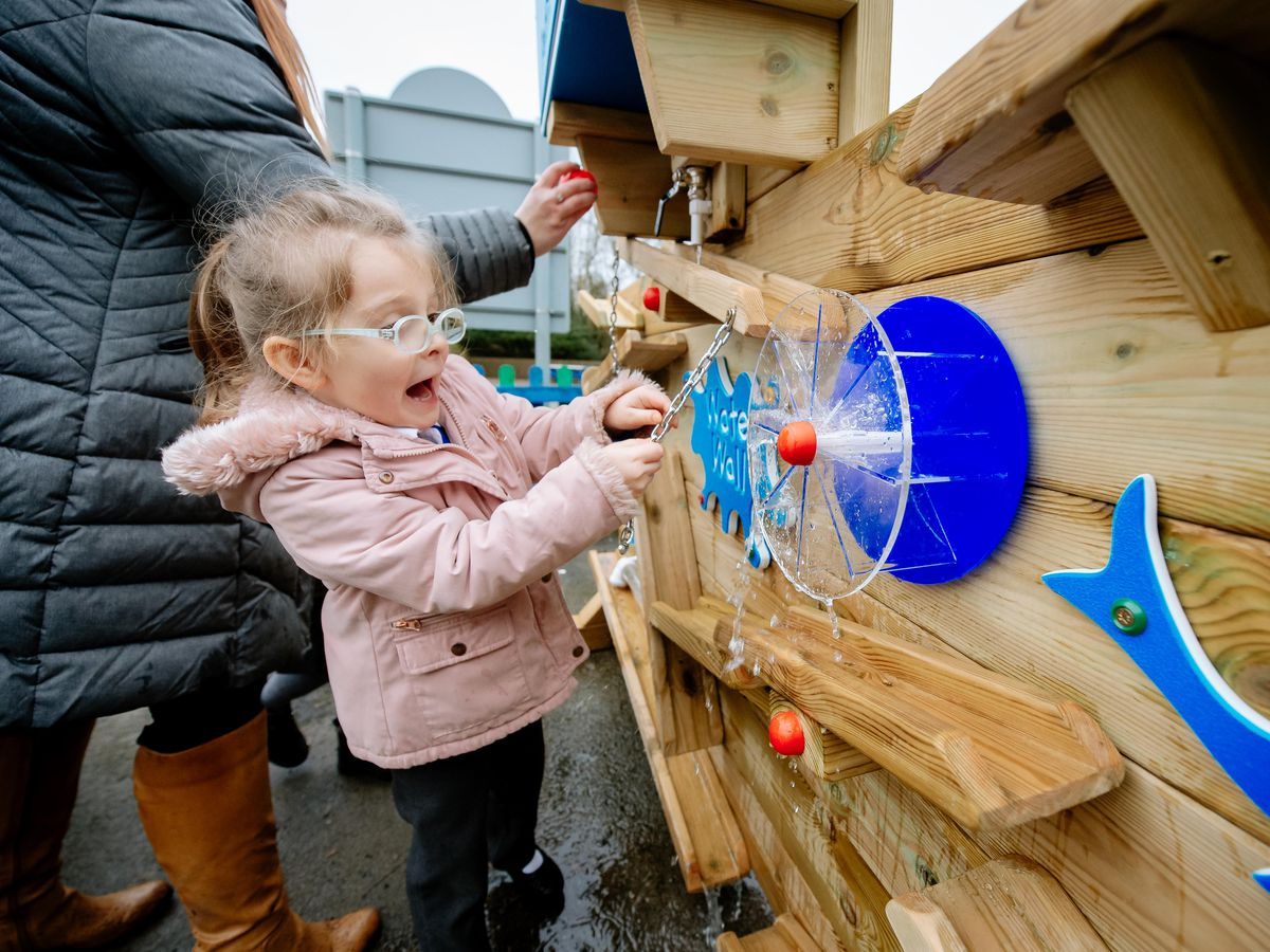 New play equipment at Lawley Primary School