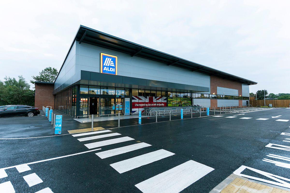 The new store at Milton Drive. Photo: Richard Grange / United National Photographers