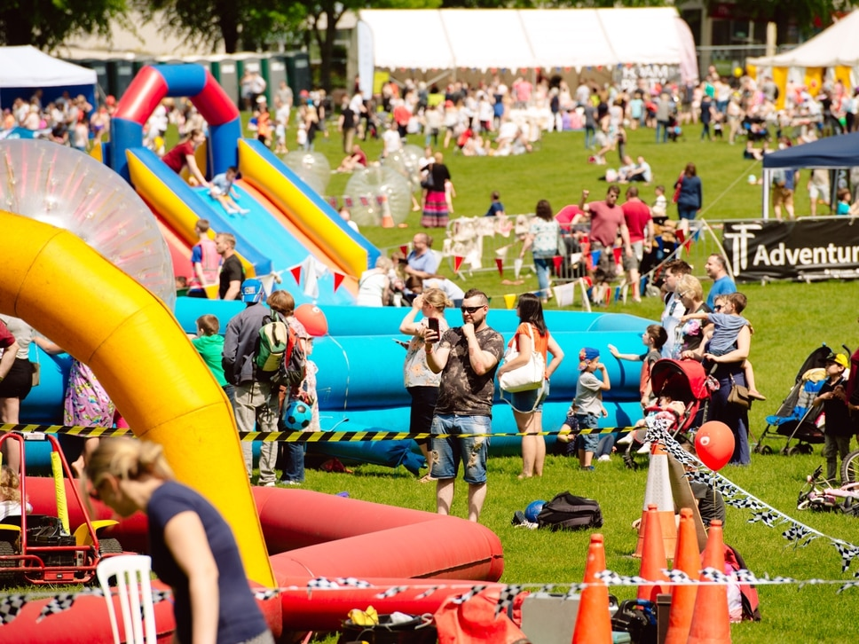 Child's play as sun shines on Shrewsbury Kids Fest - with video and pictures