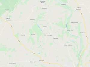 A map showing the B4373 connecting Broseley and Bridgnorth. Pic: Google Maps