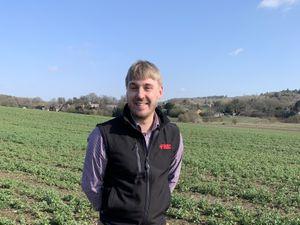 Shropshire Star farming column columnist Chris Bond, FMC crop nutrition specialist.