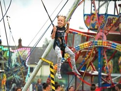 Rain failed to dampen spirits at Market Drayton Party Park - in pictures