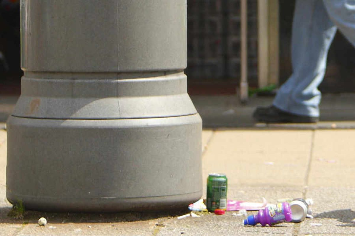 Shropshire's litter louts pay £7,500 in fines