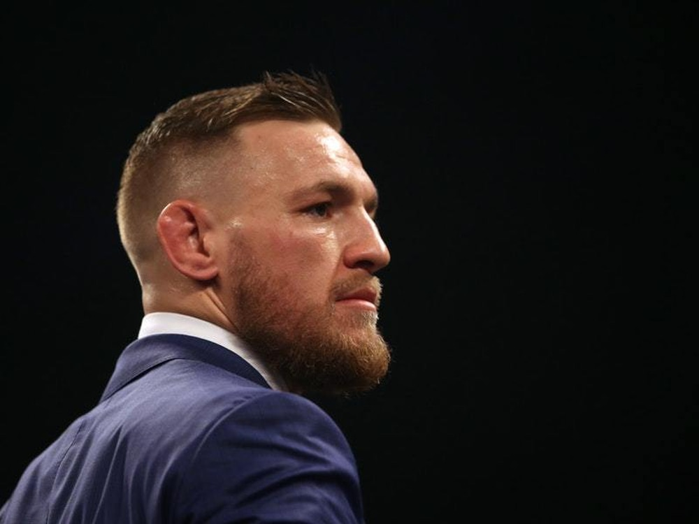 Conor Mc Gregor during a press conference
