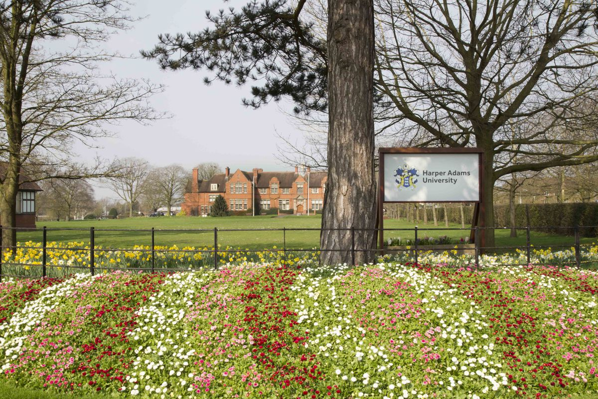 Harper Adams near Newport is a leading agricultural university