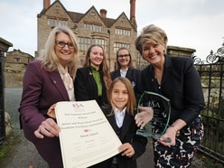 Shropshire school celebrates winning top award
