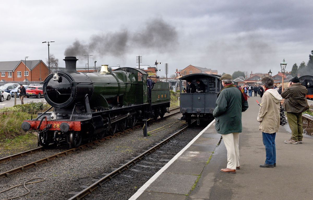 Steam Gala at Severn Valley Railway's Kidderminster Station