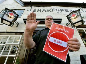 Dave Whelan, landlord of The Shakespeare Inn, Bridgnorth