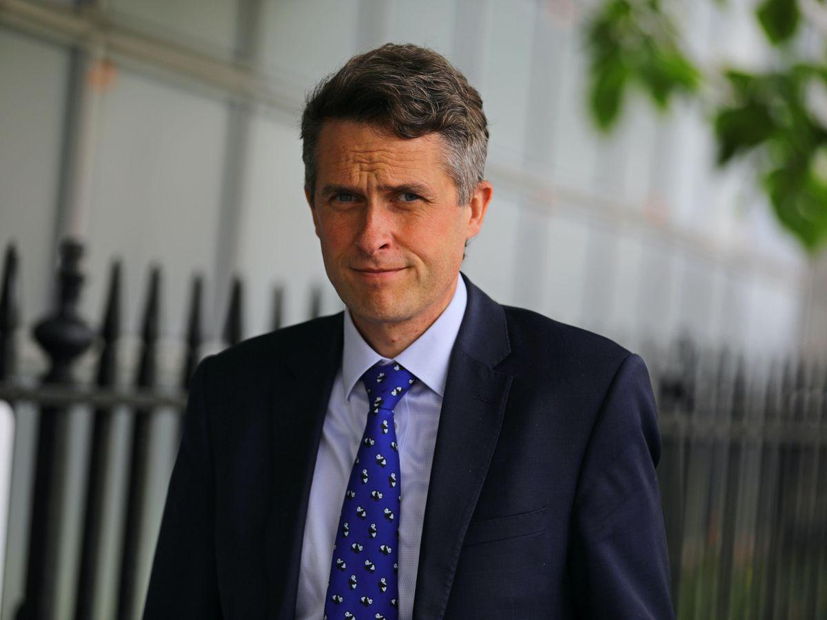 Secretary of State for Education Gavin Williamson