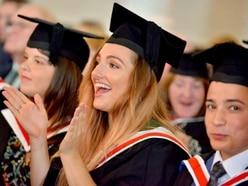 Shrewsbury University celebrates graduation - in pictures and video