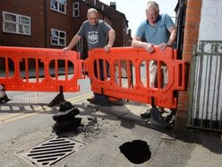 Ellesmere sink hole repair work to take place next week