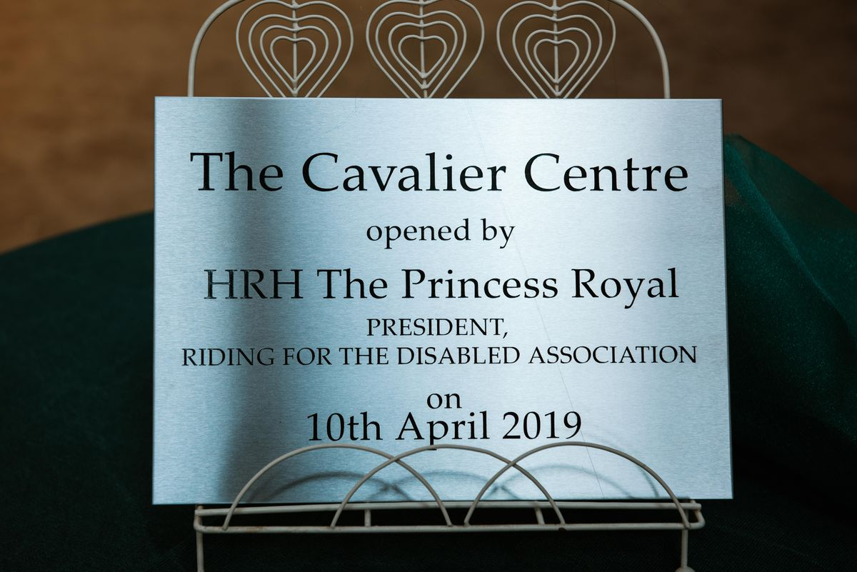 Princess Anne officially opened the centre