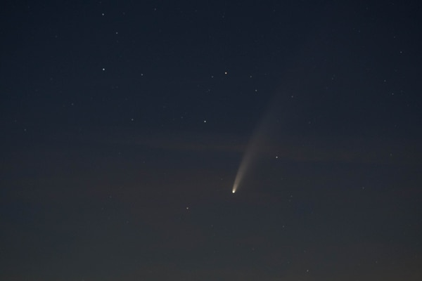 Comet Neowise lights up the summer sky