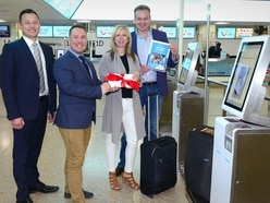 One million self service bag drops at airport
