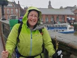 Intrepid walker to speak in Shrewsbury