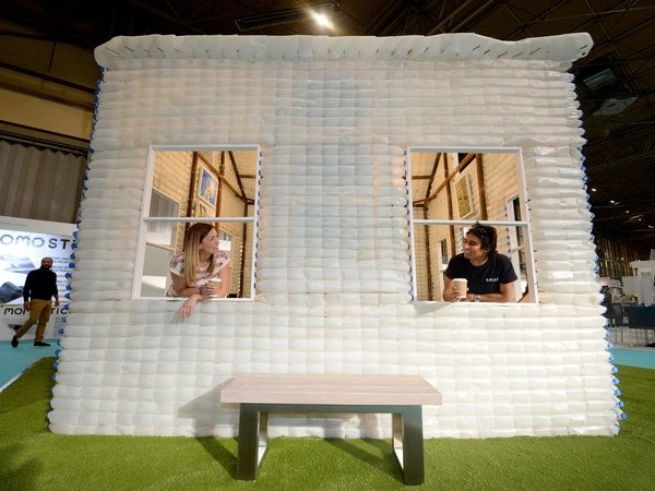 From milk bottle houses to fungus headphones: See the Grand Designs on show in Birmingham