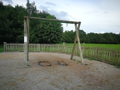 Swings removed from Shropshire village playground over safety fears