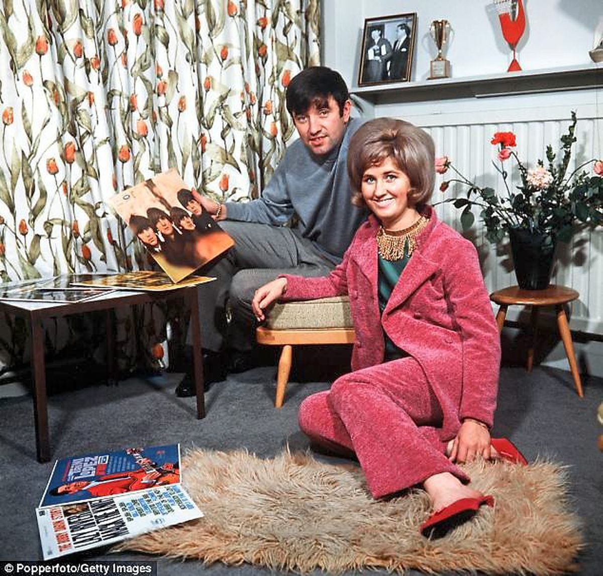 Swinging sixties – Tarby and wife Pauline in the 60s