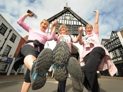 Bridgnorth Up the Steps walks hailed as a great success - with pictures and video