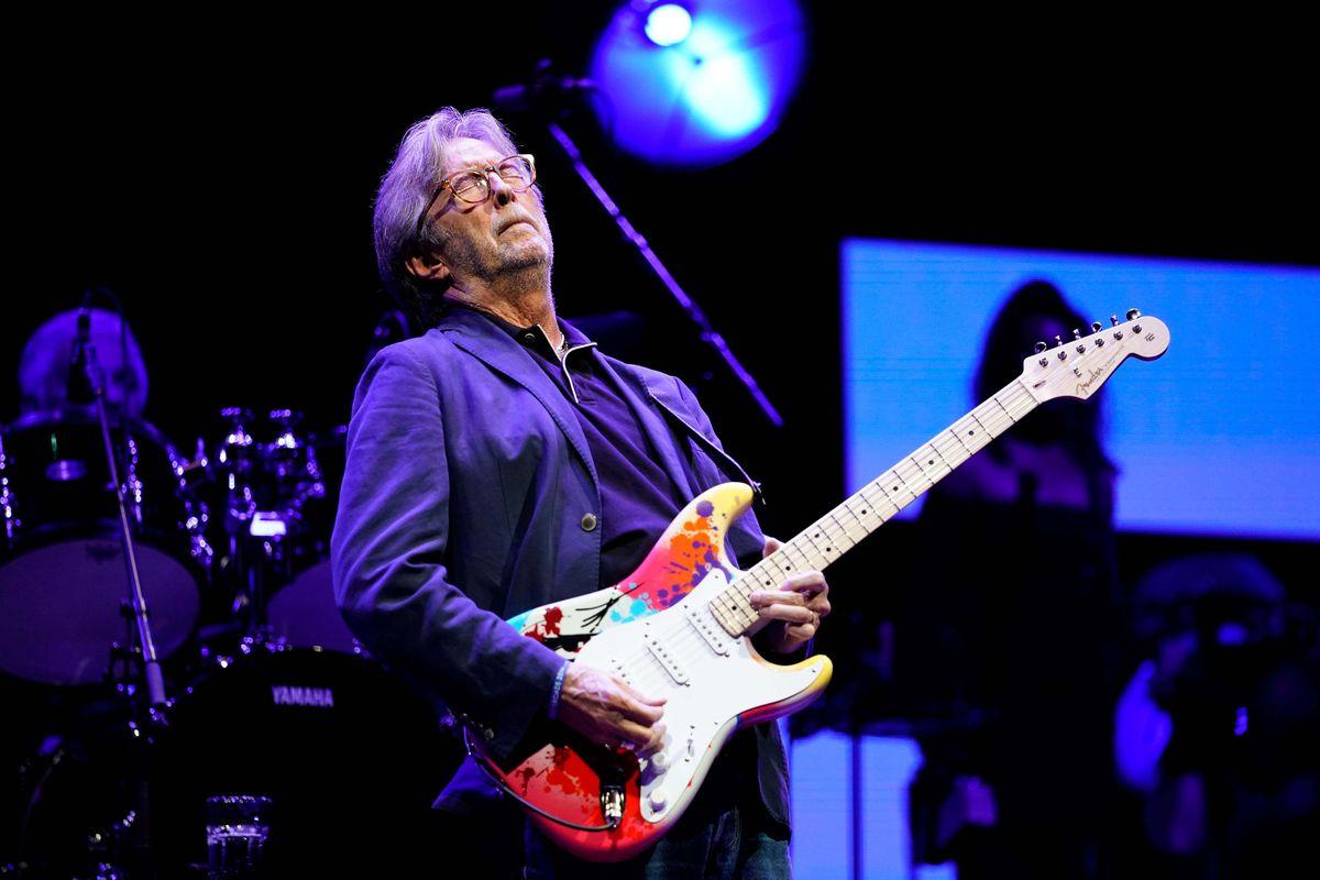 Rock legend Eric Clapton