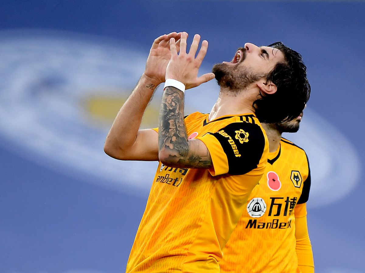 Midfield maestro Ruben Neves has been trying to hit the target but his last top flight goal came against Villa more than a year ago (AMA)