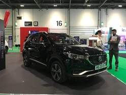 All-electric MG ZS EV showcased at London Motor and Tech Show