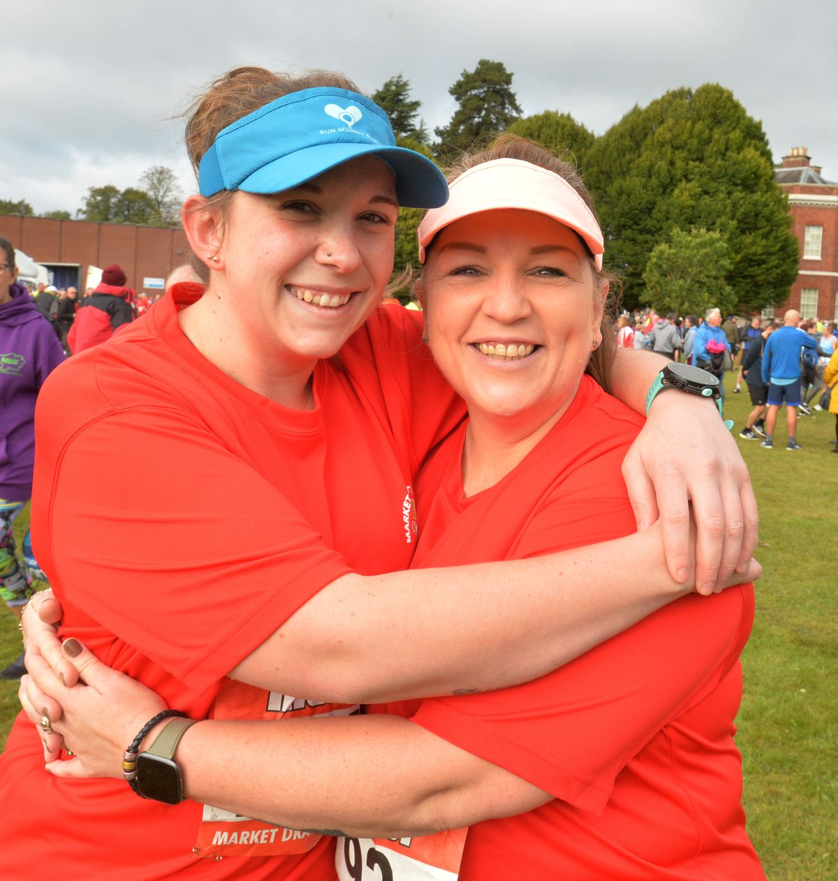 Claire Nutt, left, and Michele Smith, both of Market Drayton