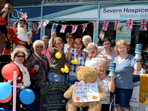 Celebrations at Severn Hospice in Bayston Hill