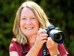 Carol Ann Langford, a photographer in Albrighton, has been walking round the village on her daily exercise, taking pictures of different households.