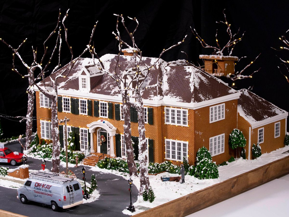 Home Alone house created out of gingerbread to mark film's 30th anniversary