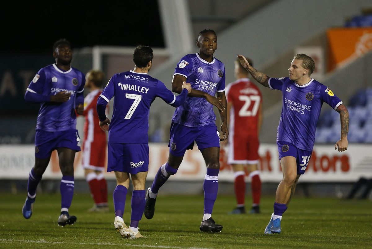 Beckles celebrates after equalising in the 64th minute. Photo: AMA