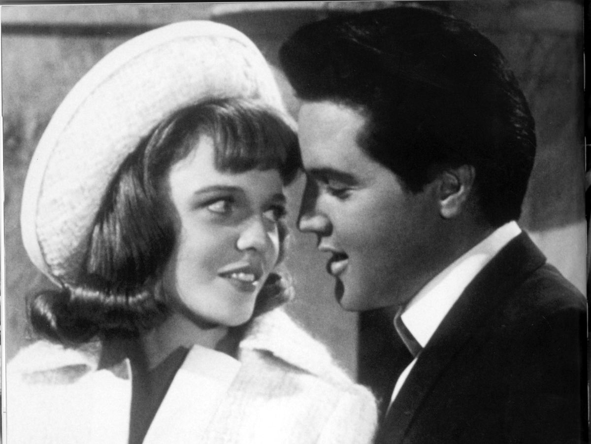 Elvis and Annette together in their 1967 film Double Trouble