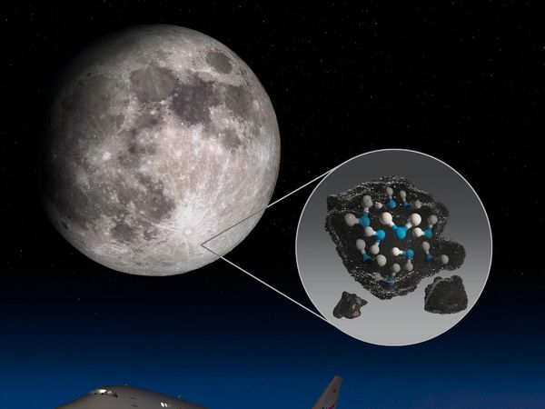 Water on the moon research