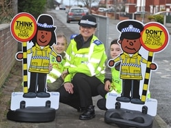 Shropshire school safety call from cartoon cops