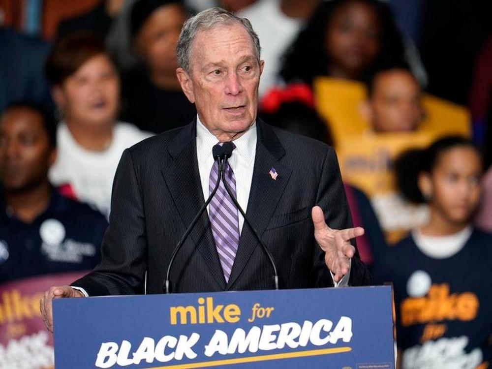 Bloomberg qualifies for Democratic debate