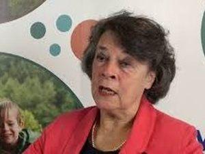 Powys County Council Leader, Councillor Rosemarie Harris.