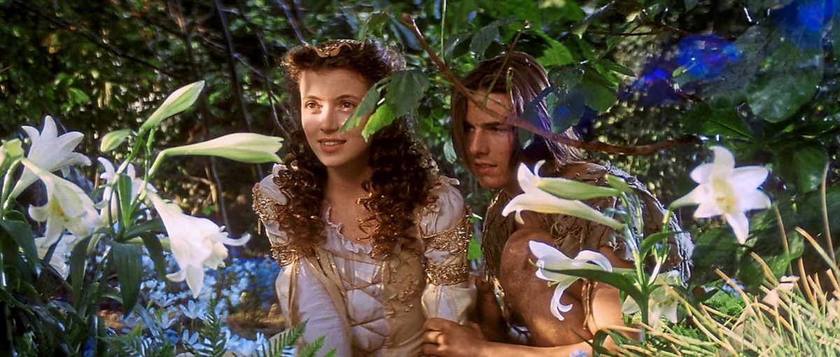 Mia Sara and Tom Cruise in Ridley Scott's fantasy epic Legend