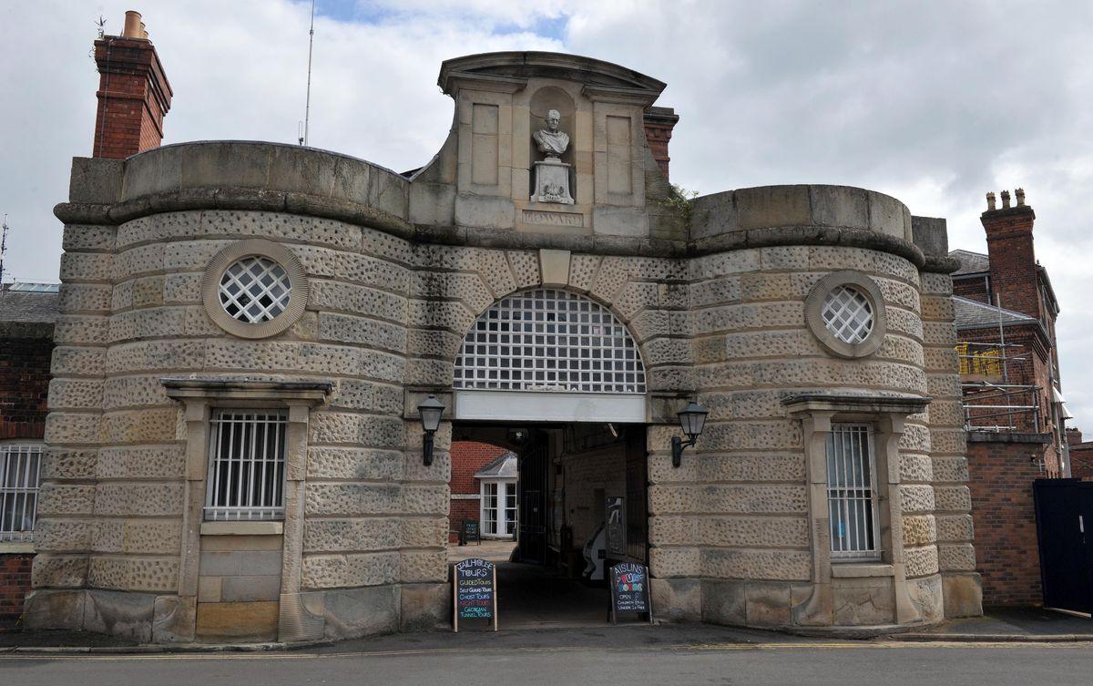 The Dana Prison is near the train station in Shrewsbury