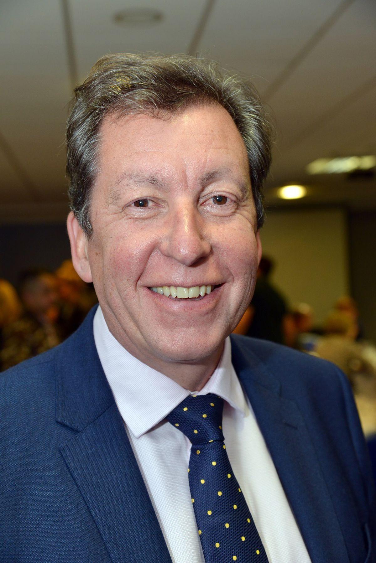Telford College Principal Graham Guest