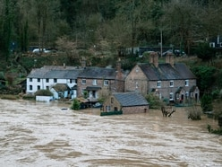 Shropshire flooding: Residents evacuated from Ironbridge as danger to life warning issued - with pictures